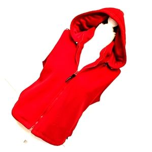 Express Red snuggly vest